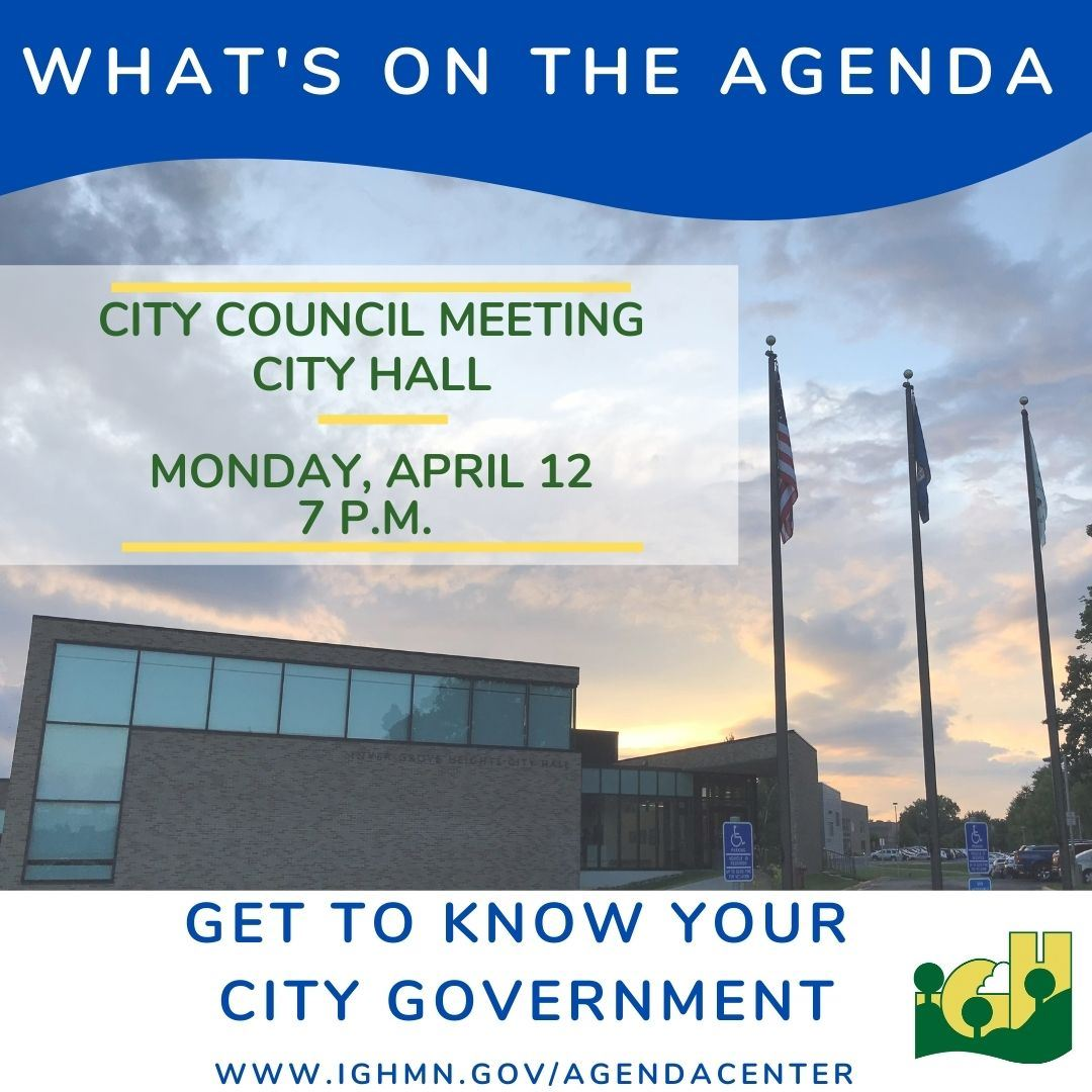 City Council Meeting  Whats on the Agenda  April 2021 1