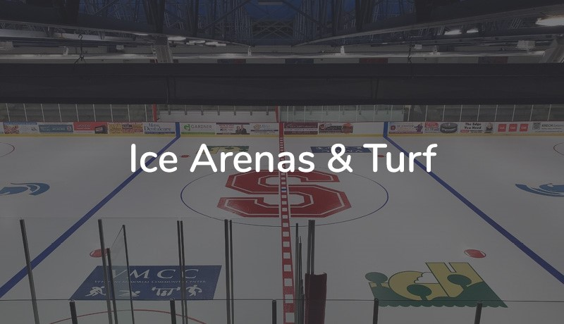 1(Ice arenas and turf)